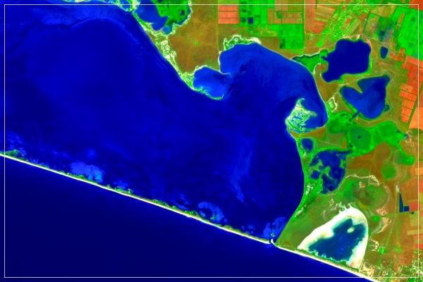 Потіївська ділянка та кутова частина Тендрівської затоки