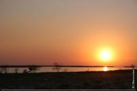 Схід сонця в Тендрівській затоці